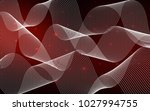dark red vector cover with... | Shutterstock .eps vector #1027994755