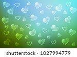 light blue  green vector cover... | Shutterstock .eps vector #1027994779