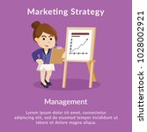 marketing strategy management... | Shutterstock .eps vector #1028002921