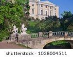 centaurs bridge in the park of...   Shutterstock . vector #1028004511