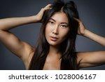 portrait of beautiful asian...   Shutterstock . vector #1028006167