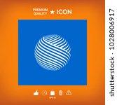 earth logo design | Shutterstock .eps vector #1028006917