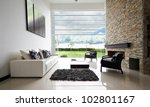 interior design series  modern... | Shutterstock . vector #102801167