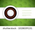 vector illustration of a golf... | Shutterstock .eps vector #1028039131