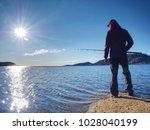 Fisherman Silhouette At Sunset...
