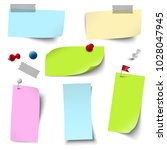 vector file of empty papers...   Shutterstock .eps vector #1028047945