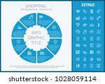 shopping infographic template ... | Shutterstock .eps vector #1028059114