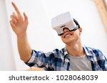 entertainment. joyful well... | Shutterstock . vector #1028068039