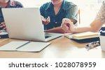university students using...   Shutterstock . vector #1028078959