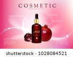 design cosmetics product... | Shutterstock . vector #1028084521