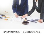 business people and lawyers... | Shutterstock . vector #1028089711