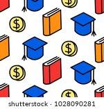 seamless education loan... | Shutterstock .eps vector #1028090281