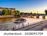 pont neuf is the oldest bridge... | Shutterstock . vector #1028091709