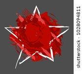 paint splash. vector abstract... | Shutterstock .eps vector #1028094811
