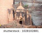 details of mingun pahtodawgyi... | Shutterstock . vector #1028102881