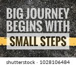 big journal begins with small... | Shutterstock . vector #1028106484