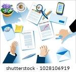 business poster. modern concept ... | Shutterstock .eps vector #1028106919