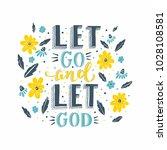 vector religions lettering  ... | Shutterstock .eps vector #1028108581