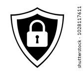 secure internet icon.... | Shutterstock .eps vector #1028117611
