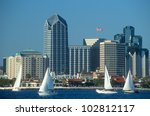 Skyline Of San Diego ...