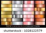 gold silver rose bronze... | Shutterstock .eps vector #1028122579