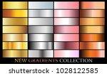 gold silver rose bronze... | Shutterstock .eps vector #1028122585