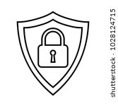 secure internet icon....   Shutterstock .eps vector #1028124715