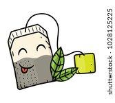 Cartoon Tea Bags.vector Cartoo...