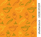 bright seamless pattern with...   Shutterstock .eps vector #1028135209