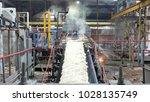 industrial premises sugar... | Shutterstock . vector #1028135749