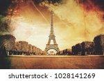 Eiffel Tower  Vintage....