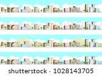 3d landscape of the city | Shutterstock .eps vector #1028143705