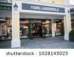 parndorf  austria  february 15  ... | Shutterstock . vector #1028145025