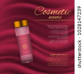 vector 3d cosmetic illustration ...   Shutterstock .eps vector #1028147239