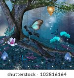 Enchanted Tree In The Middle O...