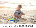 cute little asian 18 months  1...   Shutterstock . vector #1028173609