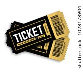 two  pair vector ticket... | Shutterstock .eps vector #1028178904