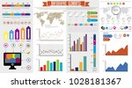 business infographic template... | Shutterstock .eps vector #1028181367