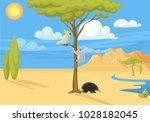 australia wild background...   Shutterstock .eps vector #1028182045