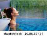 retreat and vacation..... | Shutterstock . vector #1028189434