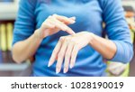 close up for hard beautiful... | Shutterstock . vector #1028190019