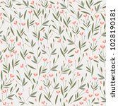 seamless vector pattern with... | Shutterstock .eps vector #1028190181