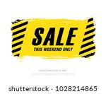 sale banner layout design | Shutterstock .eps vector #1028214865