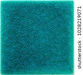ocean blue glazed ceramic tile  ... | Shutterstock . vector #1028219071