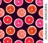 Orange And Grapefruit  Seamles...