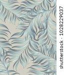 exotic tropical vector... | Shutterstock .eps vector #1028229037