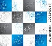 collection of bauhaus... | Shutterstock .eps vector #1028240164