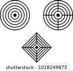 target icon  target board...   Shutterstock .eps vector #1028249875