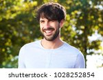close up portrait of smiling... | Shutterstock . vector #1028252854
