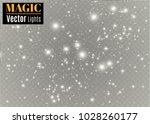 white sparks glitter special... | Shutterstock .eps vector #1028260177